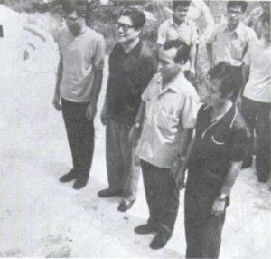 Chu Shong Tin (Re della Siu Lim Tao), Leung Sheung (Re della Biu Jee), Lok Yiu (Re della Chum Kiu), Wong Sheung Leung (Re dei Combattimenti).