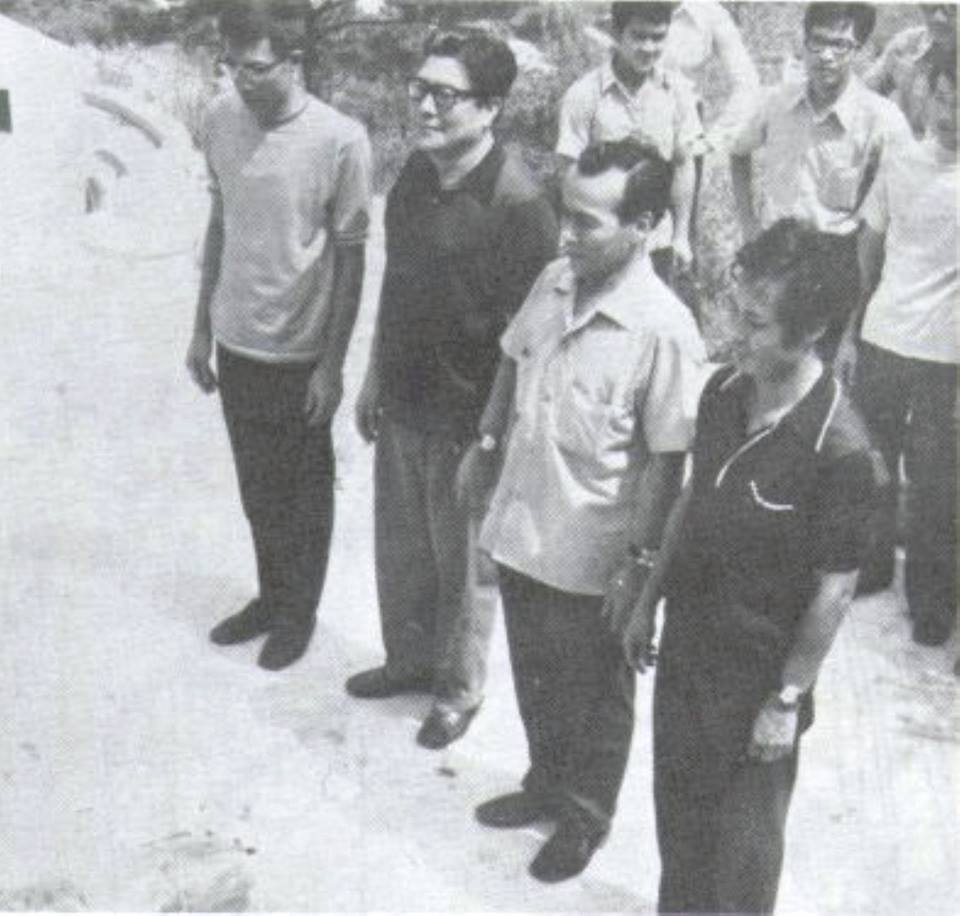 Wong Shung Leung in Un giorno di ordinario Wing Chun